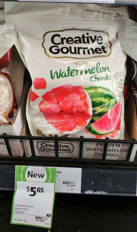 Creative Gourmet 400g Frozen Watermelon Chunks