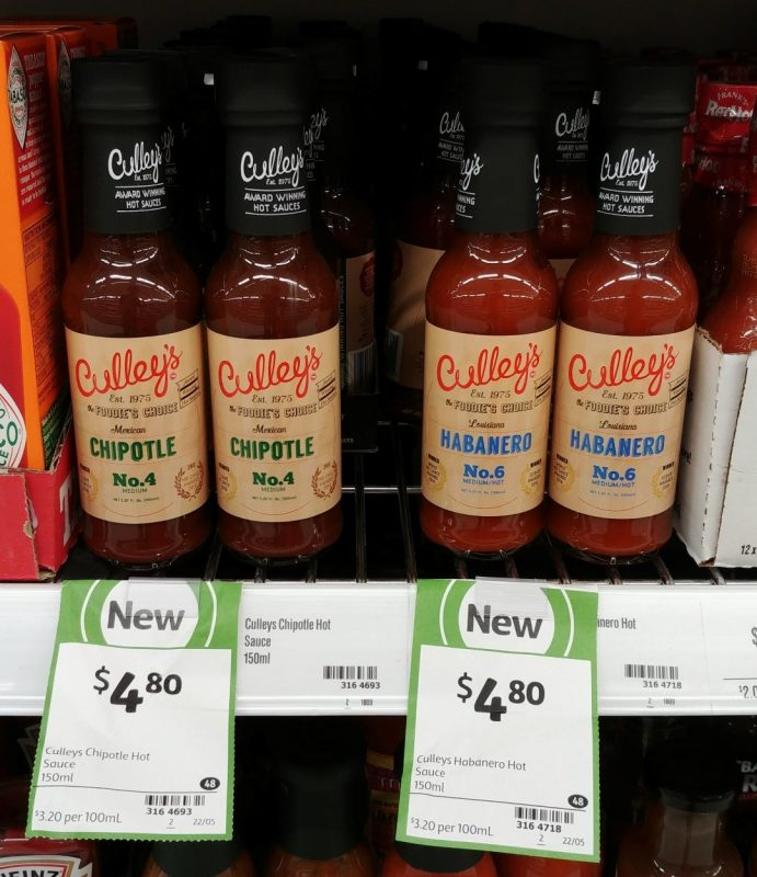 Culley's 150mL Chipotle, Habanero