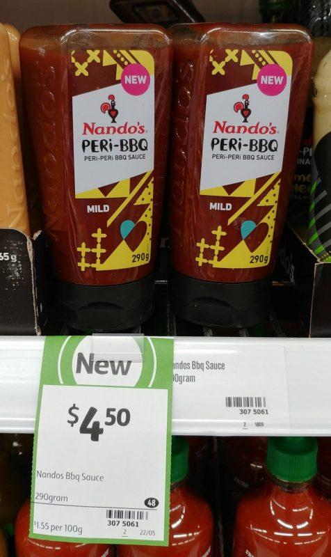 Nando's 290g Peri Peri BBQ Sauce