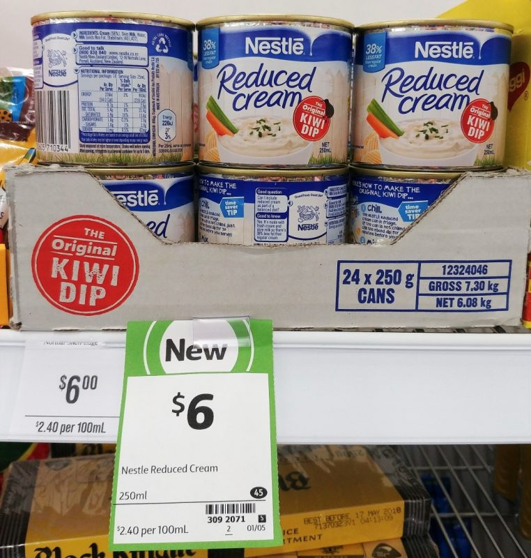 Nestle 250mL Reduced Cream