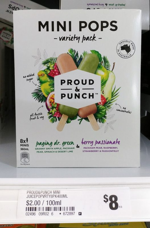 Proud & Punch 360mL Variety Pack Paging Dr Green, Berry Passionate
