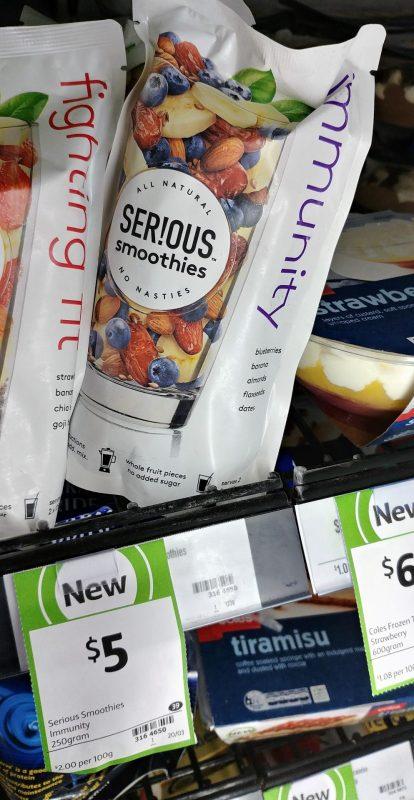 Serious Smoothies 250g Immunity