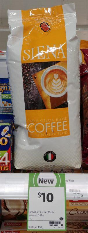 Siena 1kg Coffee