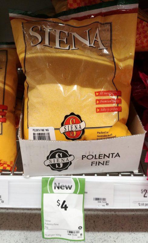 Siena 1kg Polenta Fine