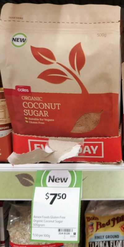 Coles 500g Coconut Sugar