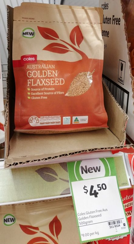 Coles 500g Golden Flaxseed