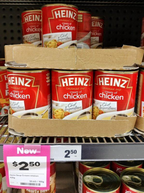Heinz 420g Condensed Soup Cream Of Chicken
