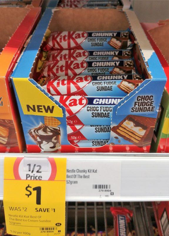 Kit Kat 52g Chunky Choc Fudge Sundae