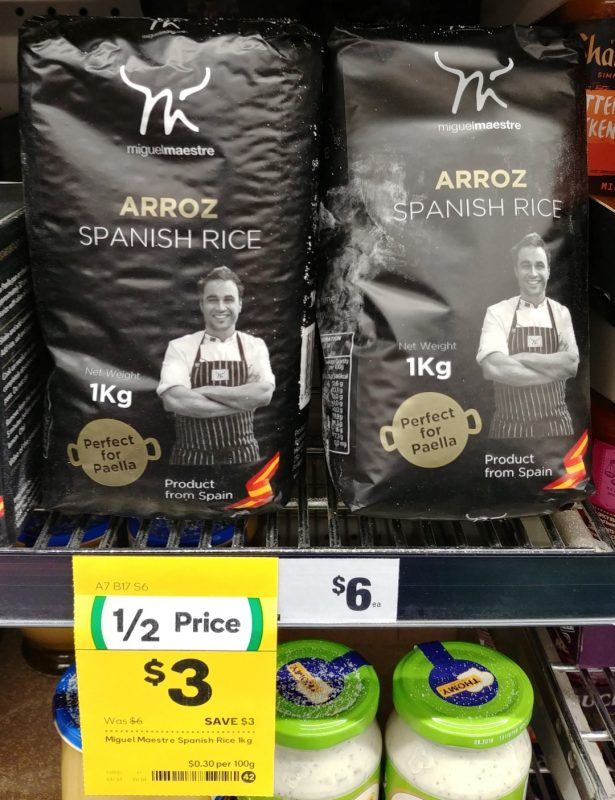Miguel Maestre 1kg Arroz Spanish Rice