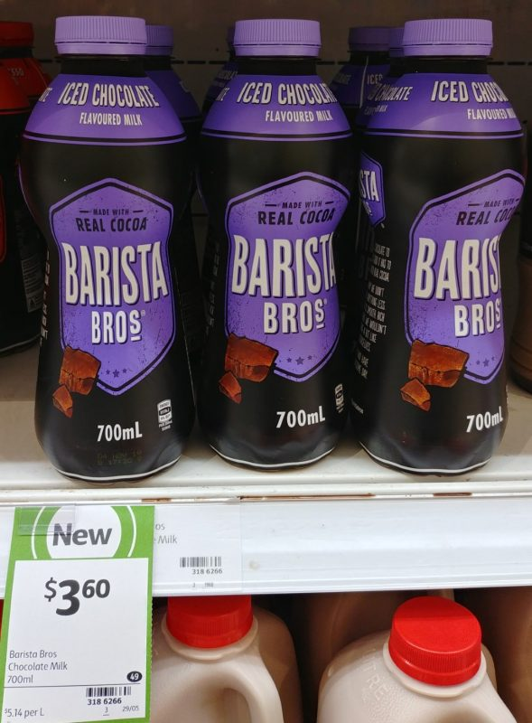 Barista Bros 700mL Flavoured Milk Iced Chocolate