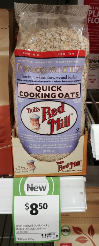 Bob's Red Mill 453g Quick Cooking Oats