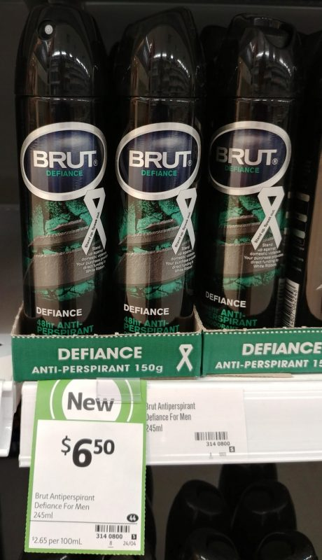 Brut 245mL Antiperspirant Defiance