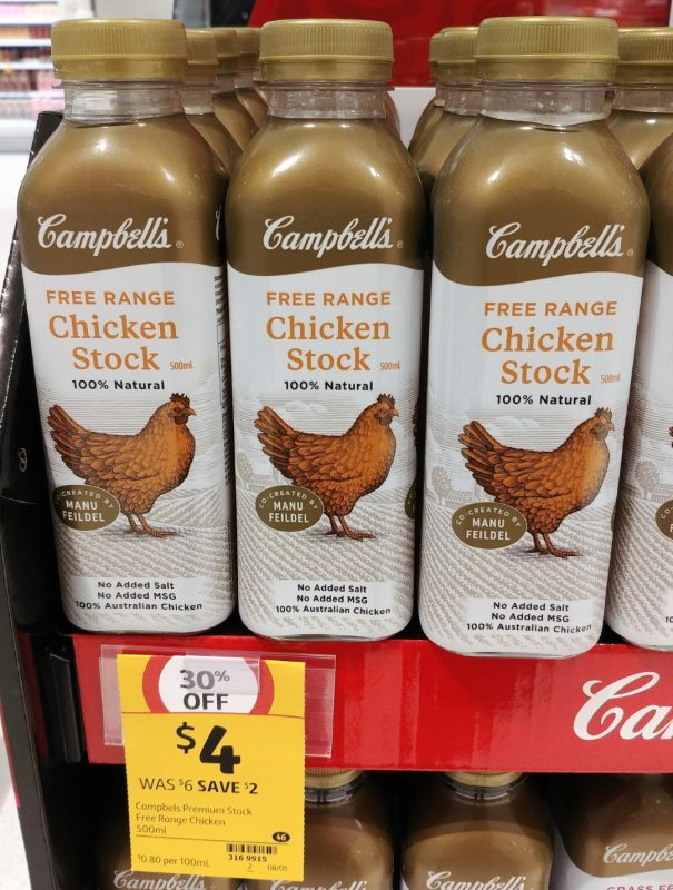 Campbell's 500mL Chicken Stock Free Range