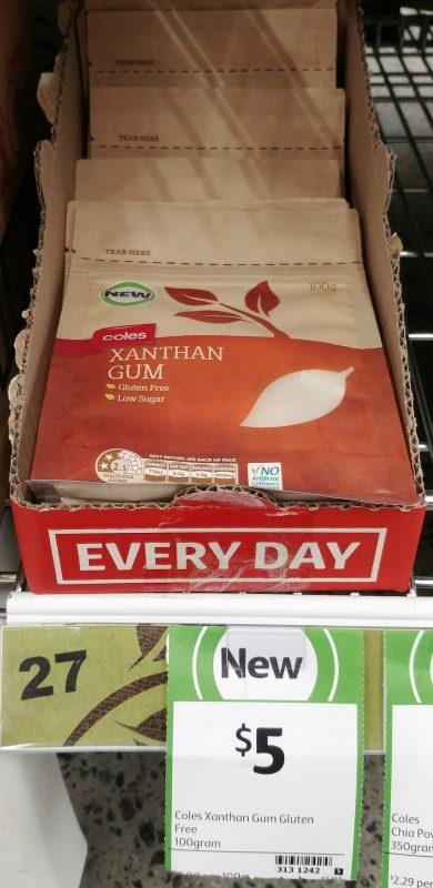Coles 100g Xanthan Gum