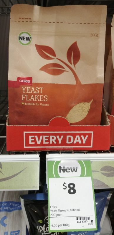 Coles 200g Yeast Flakes