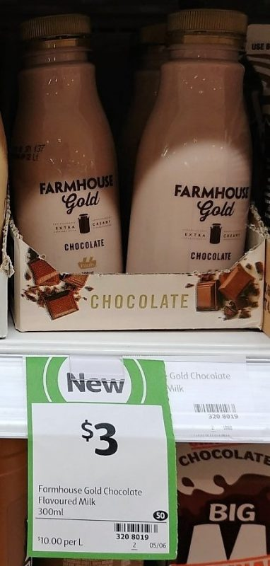 Farmhouse Gold 300mL Flavoured Milk Chocolate