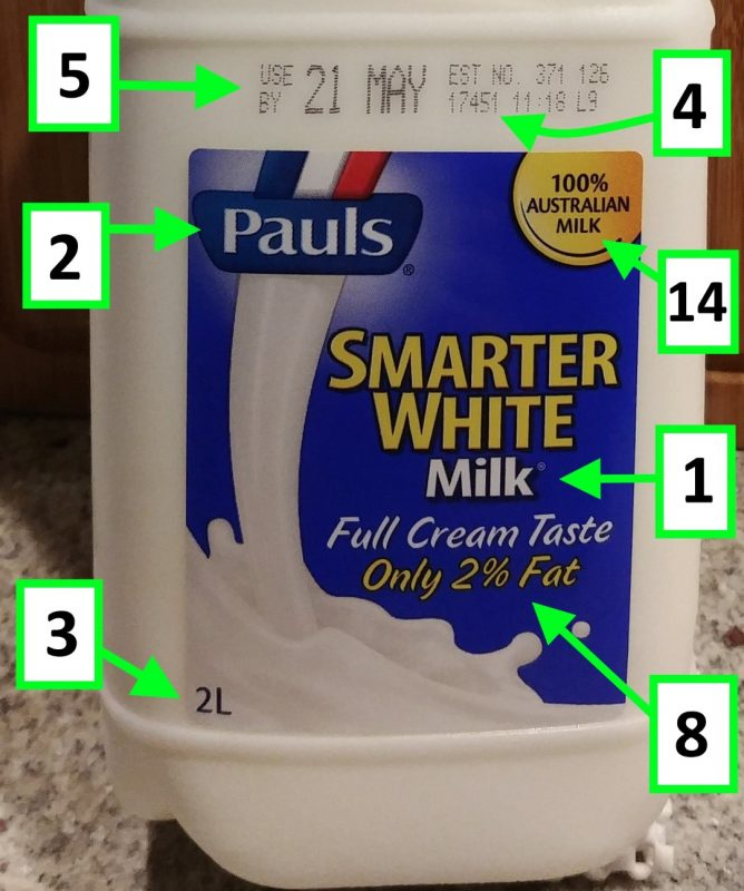 Pauls 2L Milk Smarter White 2% Fat Front