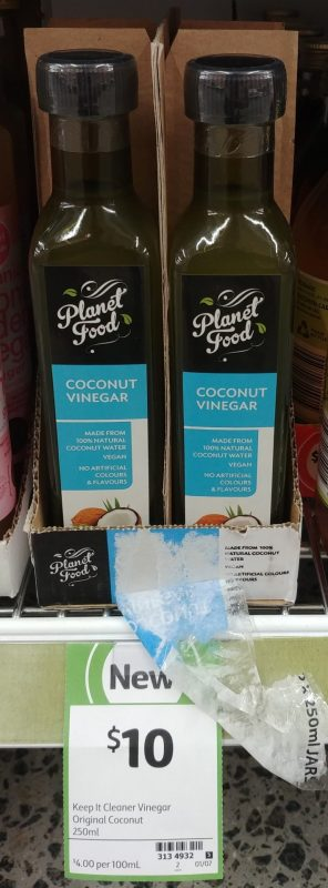 Planet Food 250mL Coconut Vinegar