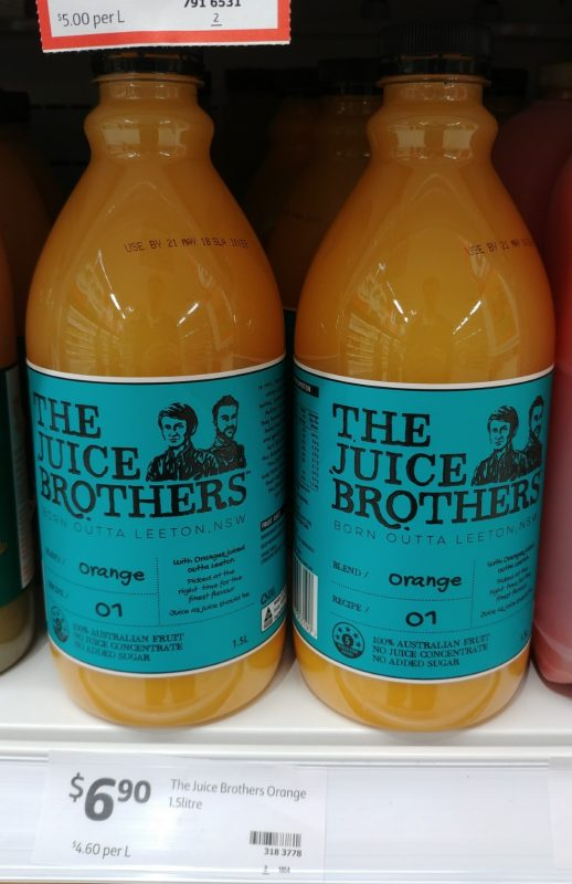 The Juice Brothers 1.5L Juice Orange
