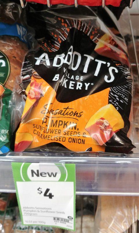 Abbott's Village Bakery 750g Sensations Pumpkin, Sunflower Seeds & Caramelised Onion