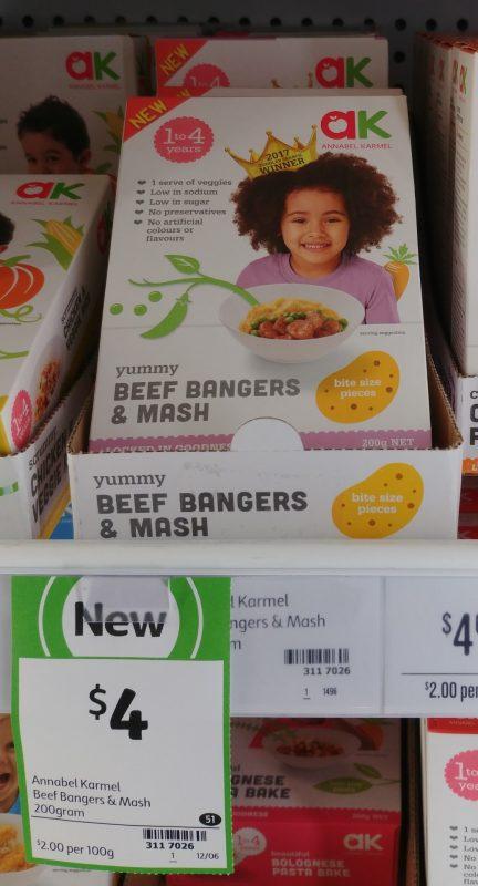 Annabel Karmel 200g Beef Bangers & Mash