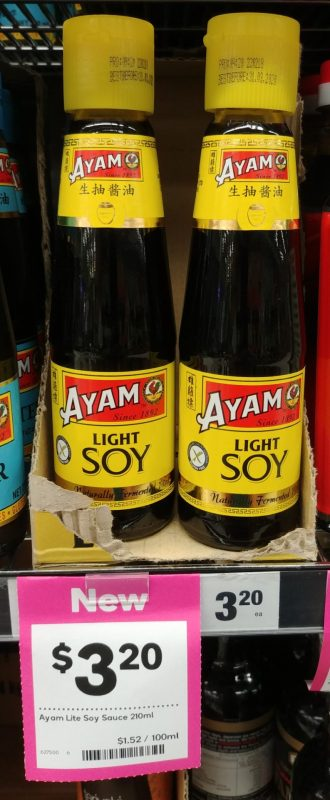 Ayam 210mL Light Soy