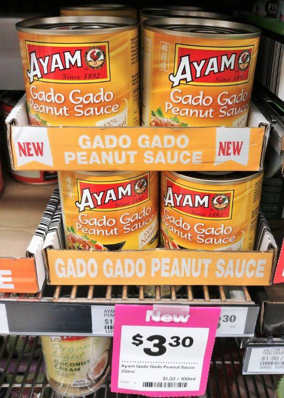 Ayam 250mL Peanut Sauce Gado Gado