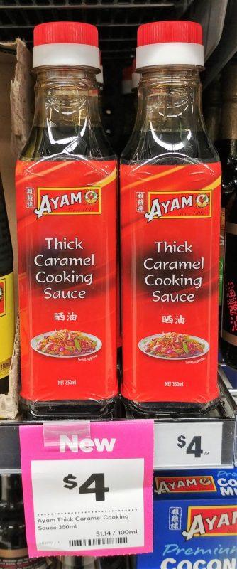 Ayam 350mL Thick Caramel Cooking Sauce