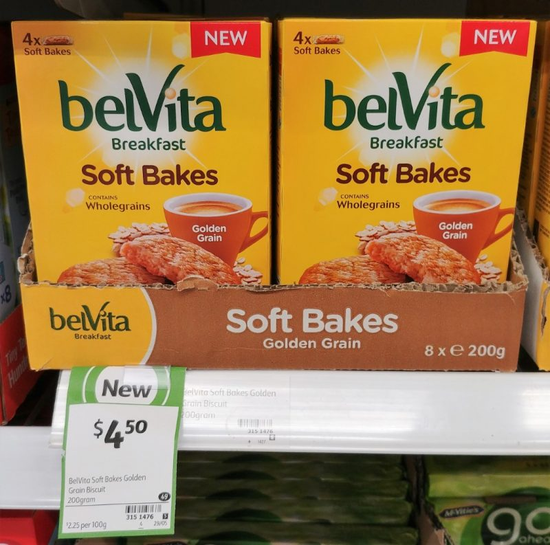 BelVita Breakfast 200g Soft Bakes Golden Grain