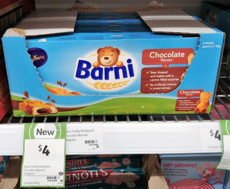 Cadbury 150g Barni Chocolate Flavour
