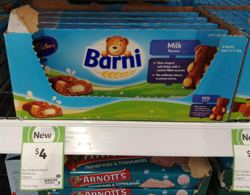 Cadbury 150g Barni Milk Flavour