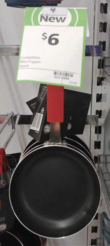 Coles 1 Pack Cook & Dine Mini Frypan