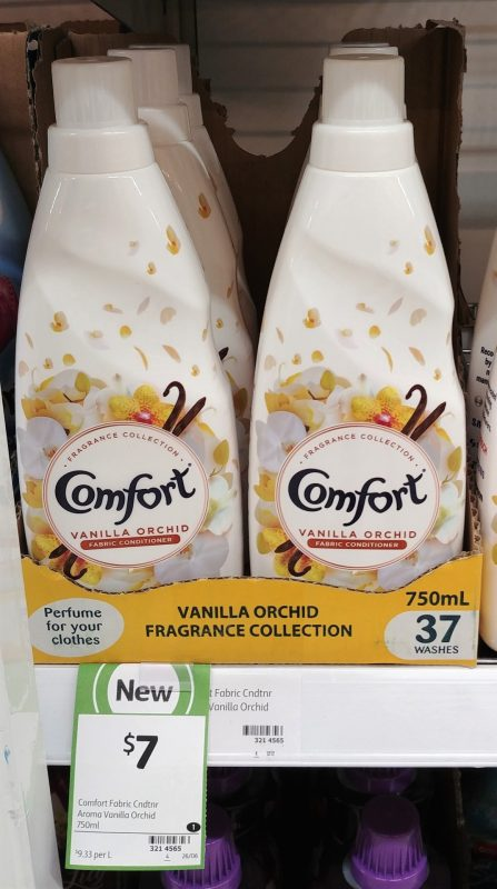 Comfort 750mL Fabric Conditioner Vanilla Orchid