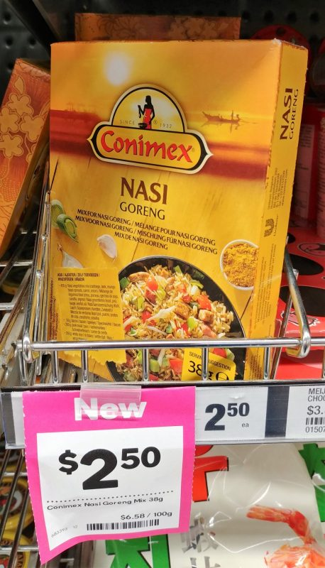 Conimex 38g Nasi Goreng Mix