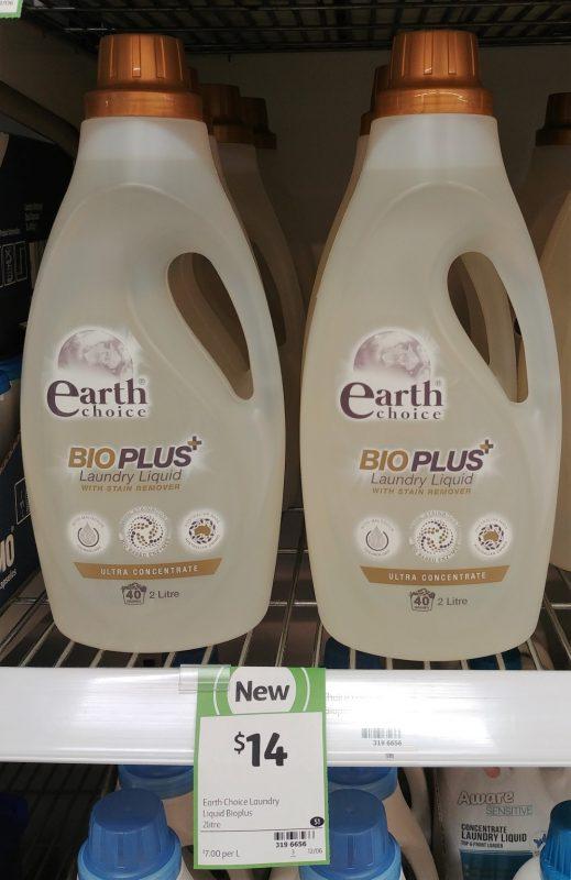 Earth Choice 2L Laundry Liquid Bio Plus