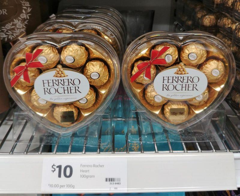 Ferrero Rocher 100g Heart
