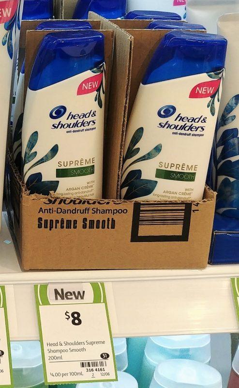 Head & Shoulders 200mL Anti Dandruff Shampoo Supreme Smooth