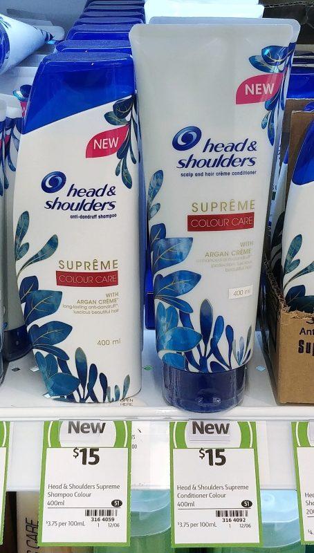 Head & Shoulders 400mL Colour Care Anti Dandruff Shampoo, Conditioner