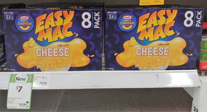 Kraft 560g Mac & Cheese Easy Mac Classic Cheese