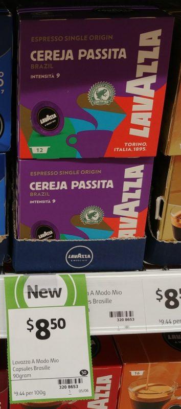 Lavazza 90g Coffee Capsules Cereja Passita Brazil