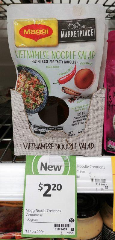 Maggi 150g Marketplace Vietnamese Noodle Salad