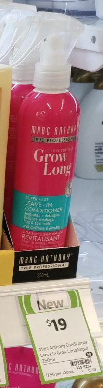 Marc Anthony 250mL Grow Long Leave In Conditioner