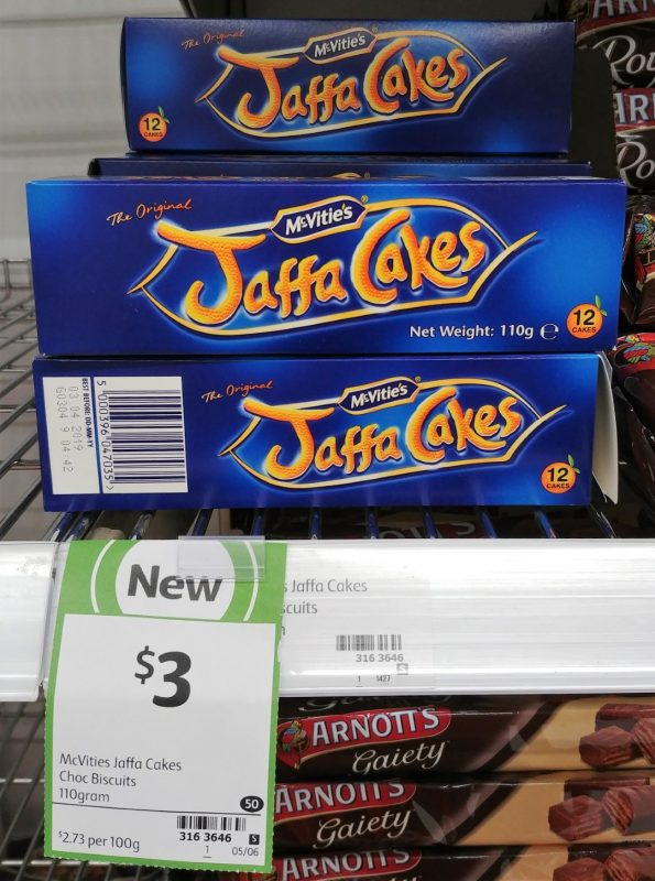 McVities 110g Jaffa Cakes