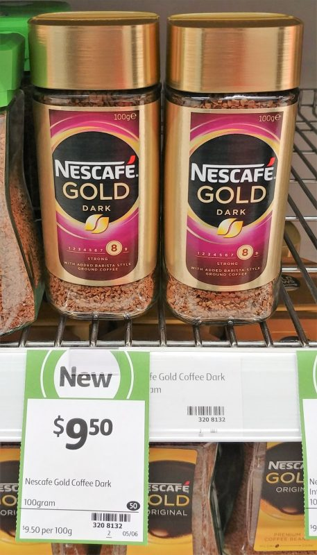 Nescafe 100g Gold Dark
