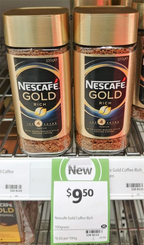 Nescafe 100g Gold Rich