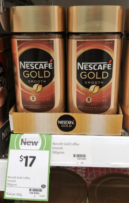 Nescafe 180g Gold Smooth