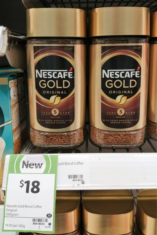 Nescafe 200g Gold Original