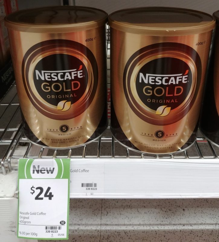Nescafe 400g Gold Original