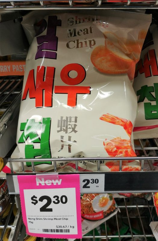 Nong Shim 75g Shrimp Meat Chip