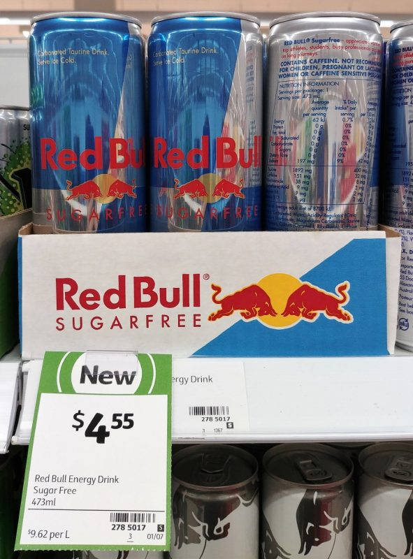 Red Bull 473mL Energy Drink Sugar Free